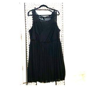Torrid black dress size 2